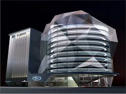 Al Matar Ford Showroom Qatar