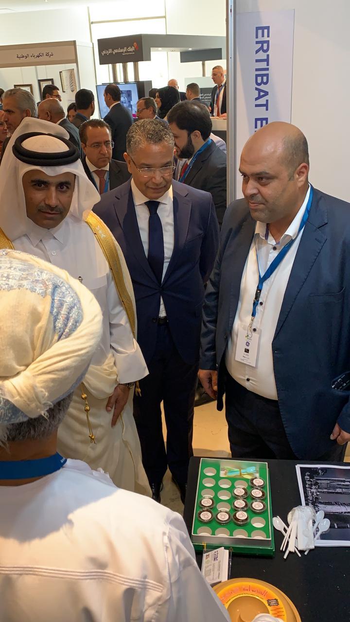 EEC participation @ Arab Union of Electricity (AUE) Exhibition held in Amman Jordan, 05th & 06th Dec. 2018